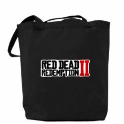 Сумка Red Dead Redemption logo