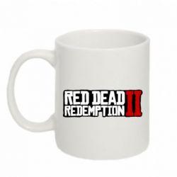 Кружка 320ml Red Dead Redemption logo