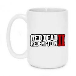 Кружка 420ml Red Dead Redemption logo