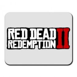 Килимок для миші Red Dead Redemption logo