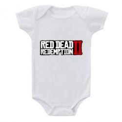 Дитячий бодік Red Dead Redemption logo