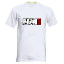 Чоловіча спортивна футболка Red Dead Redemption logo