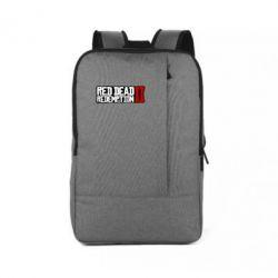 Рюкзак для ноутбука Red Dead Redemption logo