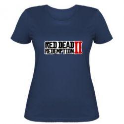 Жіноча футболка Red Dead Redemption logo