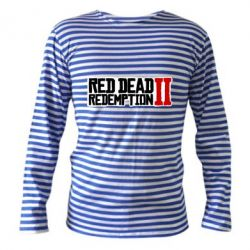Тільник з довгим рукавом Red Dead Redemption logo