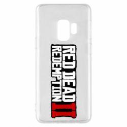 Чохол для Samsung S9 Red Dead Redemption logo