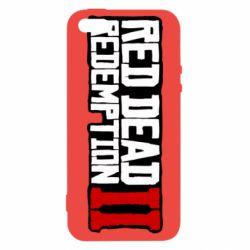 Чохол для iphone 5/5S/SE Red Dead Redemption logo