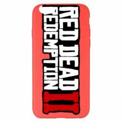 Чохол для iPhone 6 Plus/6S Plus Red Dead Redemption logo