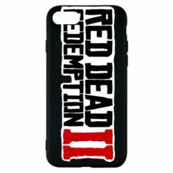 Чохол для iPhone 7 Red Dead Redemption logo