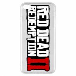 Чохол для iPhone 7 Plus Red Dead Redemption logo