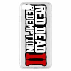 Чохол для iPhone 8 Red Dead Redemption logo