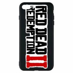Чохол для iPhone 8 Plus Red Dead Redemption logo