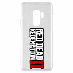 Чохол для Samsung S9+ Red Dead Redemption logo