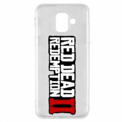 Чохол для Samsung A6 2018 Red Dead Redemption logo