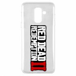 Чохол для Samsung A6+ 2018 Red Dead Redemption logo