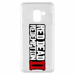 Чохол для Samsung A8 2018 Red Dead Redemption logo