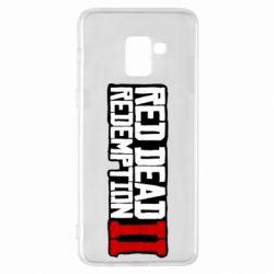 Чохол для Samsung A8+ 2018 Red Dead Redemption logo