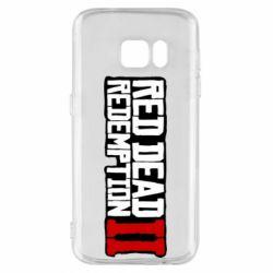 Чохол для Samsung S7 Red Dead Redemption logo