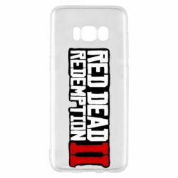 Чохол для Samsung S8 Red Dead Redemption logo