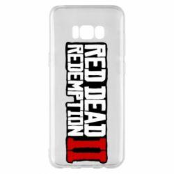 Чохол для Samsung S8+ Red Dead Redemption logo