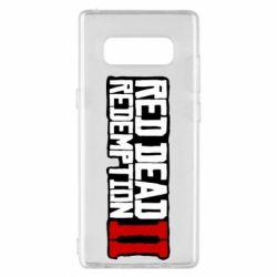 Чохол для Samsung Note 8 Red Dead Redemption logo