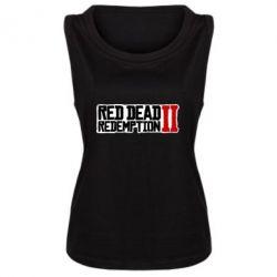 Майка жіноча Red Dead Redemption logo