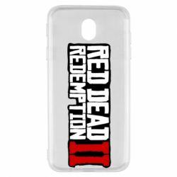 Чохол для Samsung J7 2017 Red Dead Redemption logo