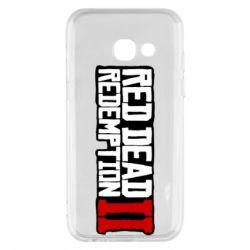 Чохол для Samsung A3 2017 Red Dead Redemption logo