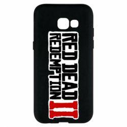Чохол для Samsung A5 2017 Red Dead Redemption logo