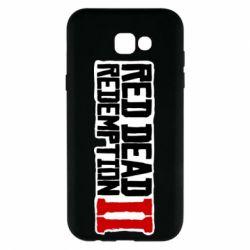 Чохол для Samsung A7 2017 Red Dead Redemption logo