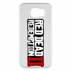 Чохол для Samsung S6 Red Dead Redemption logo