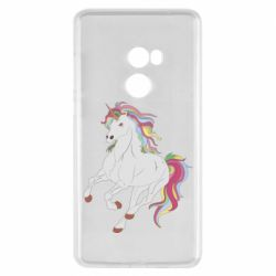 Чехол для Xiaomi Mi Mix 2 Red eye unicorn