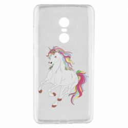Чехол для Xiaomi Redmi Note 4 Red eye unicorn