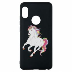 Чехол для Xiaomi Redmi Note 5 Red eye unicorn