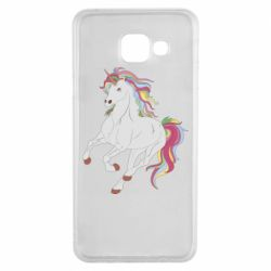 Чохол для Samsung A3 2016 Red eye unicorn