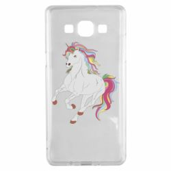 Чохол для Samsung A5 2015 Red eye unicorn