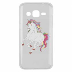 Чохол для Samsung J2 2015 Red eye unicorn