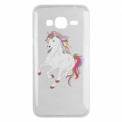 Чохол для Samsung J3 2016 Red eye unicorn
