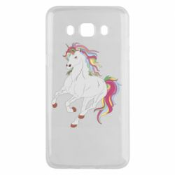 Чохол для Samsung J5 2016 Red eye unicorn