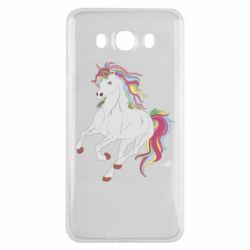 Чохол для Samsung J7 2016 Red eye unicorn