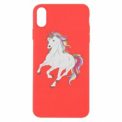 Чохол для iPhone Xs Max Red eye unicorn