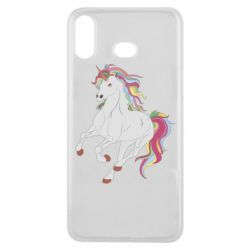 Чохол для Samsung A6s Red eye unicorn