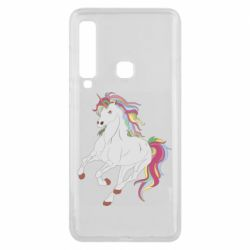 Чохол для Samsung A9 2018 Red eye unicorn