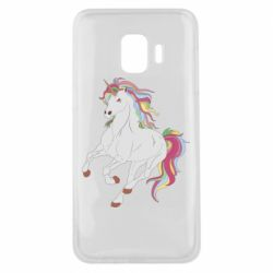 Чохол для Samsung J2 Core Red eye unicorn