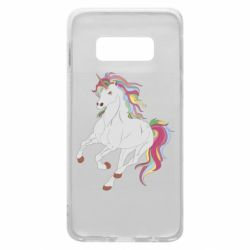 Чохол для Samsung S10e Red eye unicorn