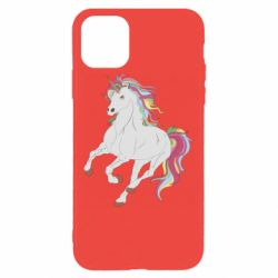 Чохол для iPhone 11 Pro Red eye unicorn