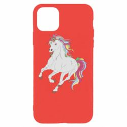 Чохол для iPhone 11 Pro Max Red eye unicorn