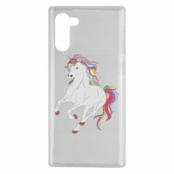 Чохол для Samsung Note 10 Red eye unicorn