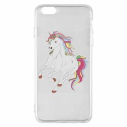 Чохол для iPhone 6 Plus/6S Plus Red eye unicorn