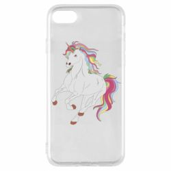 Чохол для iPhone 8 Red eye unicorn